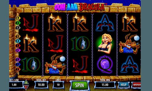 Ooh aah Dracula casino spielen